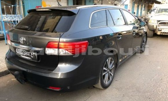 Acheter Occasion Voiture Toyota Avensis Noir à Djibouti, Djibouti Region