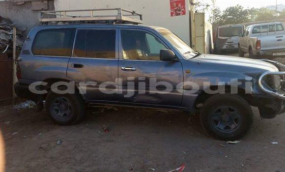 Acheter Occasions Voiture Toyota Land Cruiser Gris à Djibouti au Djibouti Region