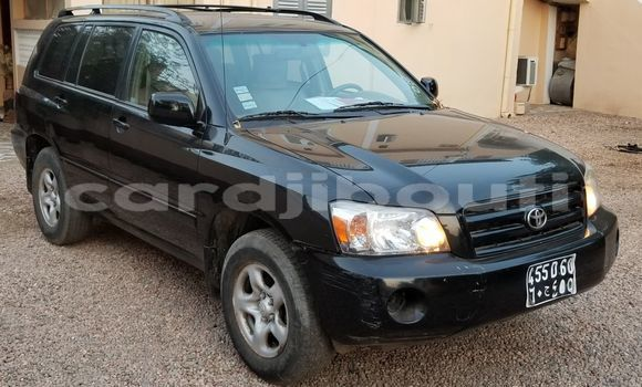 Acheter Occasions Voiture Toyota Highlander Noir à Djibouti au Djibouti Region