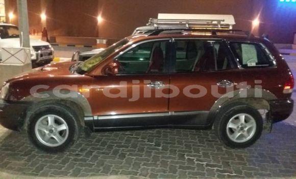 Acheter Occasion Voiture Hyundai Santa Fe Marron à Djibouti, Djibouti Region