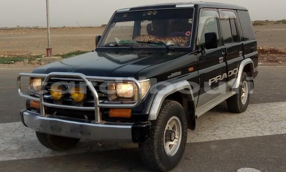 Acheter Occasion Voiture Toyota Land Cruiser Noir à Djibouti, Djibouti Region