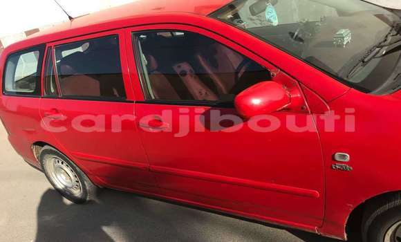 Acheter Occasion Voiture Toyota Corolla Rouge à Djibouti, Djibouti Region
