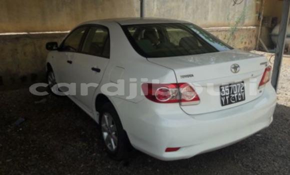 Acheter Occasions Voiture Toyota Corolla Blanc à Djibouti au Djibouti Region