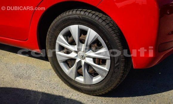 Acheter Importé Voiture Toyota Yaris Rouge à Import - Dubai, Ali Sabieh Region