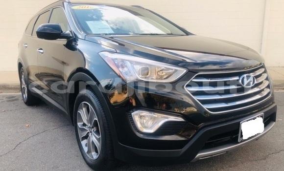 Acheter Importé Voiture Hyundai Santa Fe Noir à Djibouti, Djibouti Region